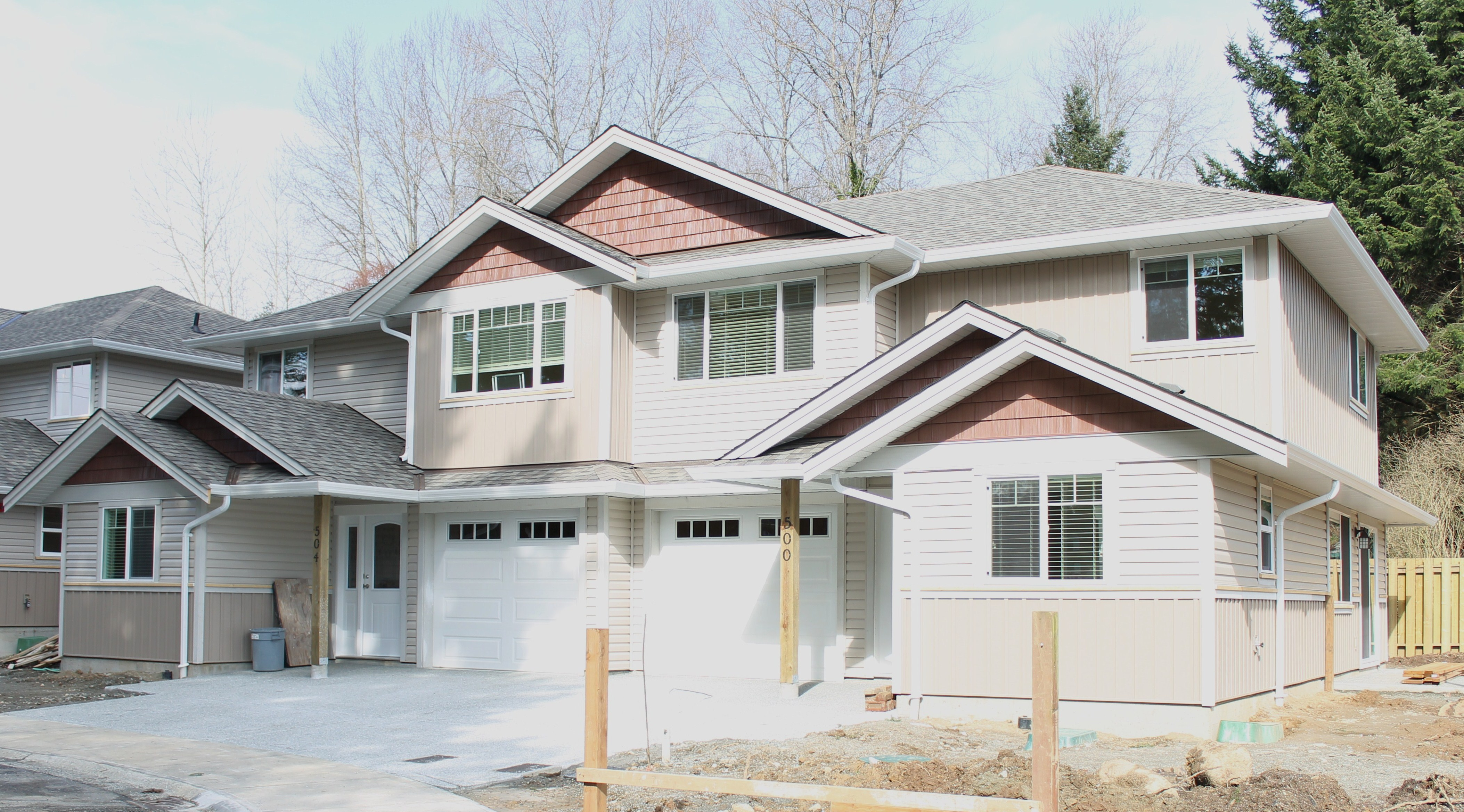 Exterior projects made to last building and renovations for New home building contract